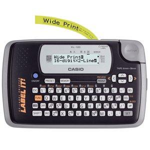 casio-computer kl-120l 16-digit x 2lines lablel printr lcd display