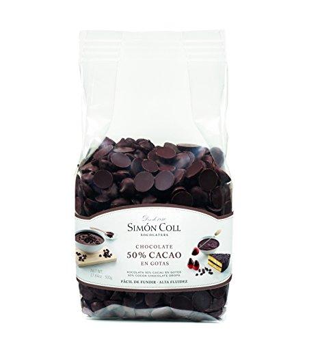Simón Coll – Gotas de Chocolate 50% cacao 500g