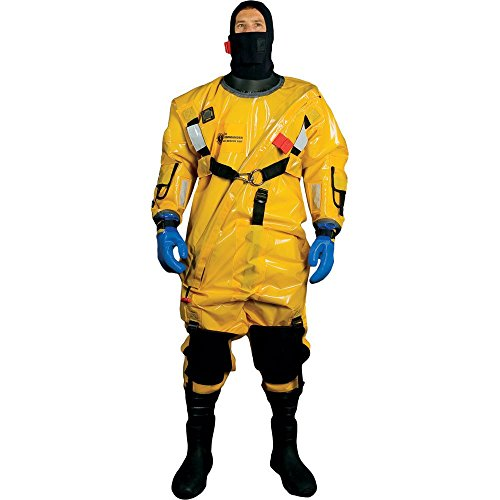 (Mustang Survival Corp Ice Commander Suit Pro, Gold)