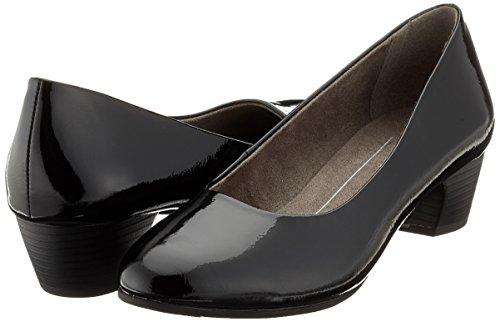 22360 Noir Softline Patent black Femme Escarpins dAqzrOtqwx