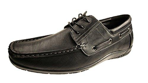 Brickers - botas sin cordones hombre negro