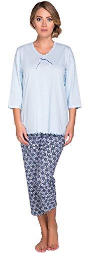 Italian Fashion IF Mujer Pijamas Clara 0222 Azul