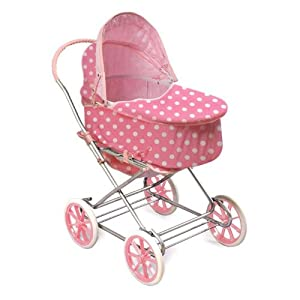 Badger Basket 3-in-1 Doll Pram Carrier and Stroller
