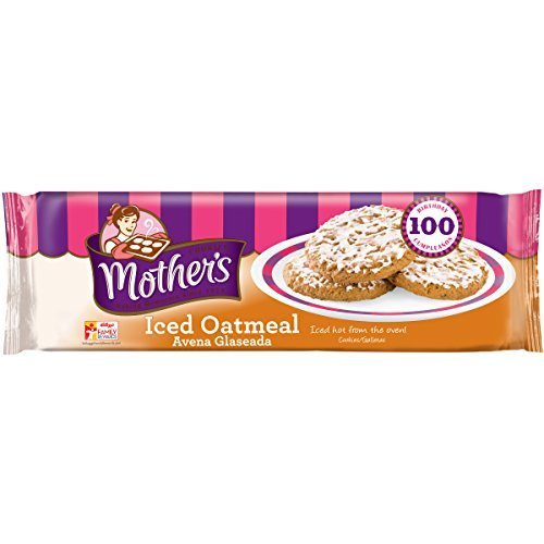 Mother's Iced Oatmeal Cookies, 13.25-Ounce Packages (Pack of 4) by Mother's