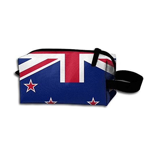 New Zealand NZ Flag1 Travel Cosmetic Bag Portable Organizer Multifuncition Handbag
