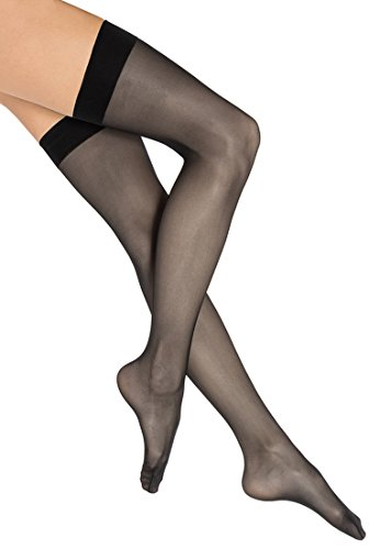 Wolford Individual 10 Stocking - Mujer 10 Denier Black