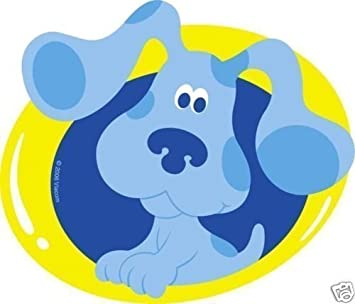 Amazon.com: Blue's Clues T-Shirt Emblems (4ct): Toys & Games