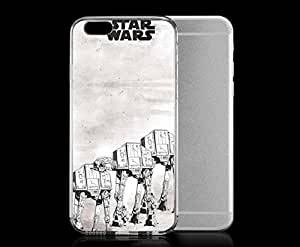 Light weight with strong PC plastic Case for Iphone 6 Pop Culture Star Wars AT-AT Walker
