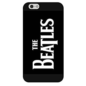 Onelee - Customized Black Frosted iPhone 6 5.5 Case, Popular Band The Beatles iPhone 6 Plus case, Only fit iPhone 6+ (5.5 Inch) by ruishername