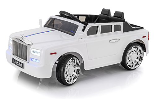 exclusive rolls royce phantom 12v ride on car for kids. Black Bedroom Furniture Sets. Home Design Ideas