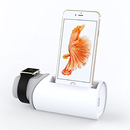 Roller shape iPhone and Apple watch Charging stand
