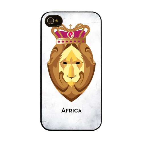 Diabloskinz H0026-0005-0026 Africa II Schutzhülle für Apple iPhone 4/4S