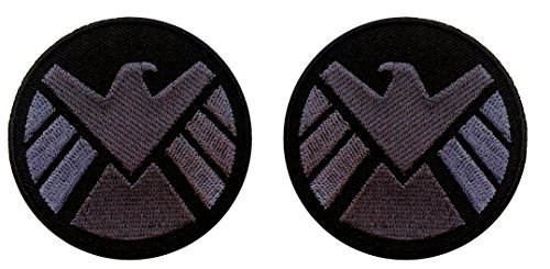 (AVENGERS Movie SHIELD Logo Costume Shoulder Patch Set of)