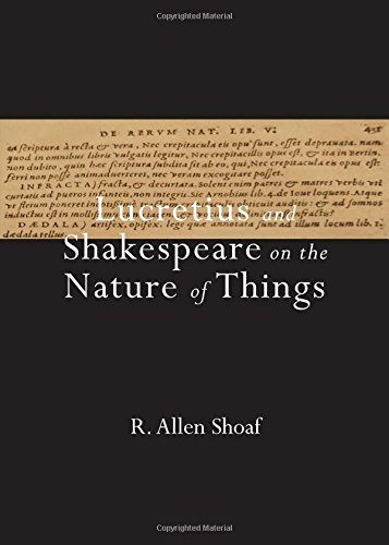 Read Online Lucretius and Shakespeare on the Nature of Things ebook