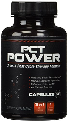 1-Post-Cycle-Therapy-PCT-Supplement-All-Natural-3-in-1-PCT-Supplement-Works-As-An-Estrogen-Blocker-and-Testosterone-Booster-While-Providing-Liver-Support-Contains-Fenugreek-Chrysin-Milk-Thistle-Tongka