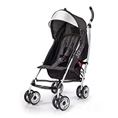 With the Summer 3Dlite Convenience Stroller, you don't have to sacrifice any features you want in a stroller! This infant stroller has a durable, lightweight and stylish aluminum frame and is one of the lightest and most feature rich convenie...