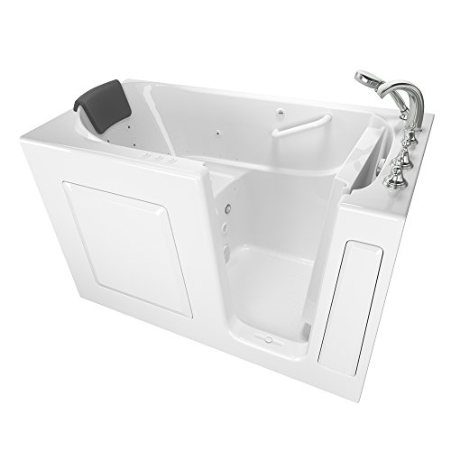 American Standard 30 Inches x 60 Inches Right Hand Premium Series Walk in Combo Whirlpool and Air Spa in White