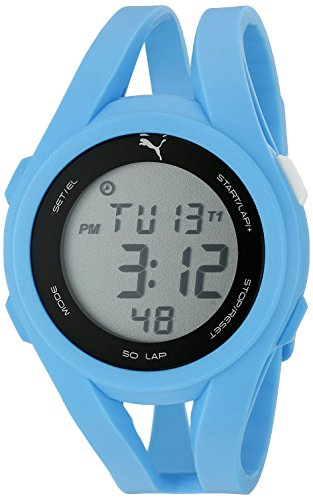 PUMA Unisex PU911131004 Airy Digital Display Quartz Watch