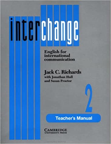 Amazon interchange 2 teachers manual english for interchange 2 teachers manual english for international communication teachers edition edition fandeluxe Gallery