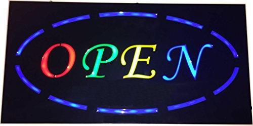 Cypress Lane Open Led Neon Light Business Sign  Ultra Bright  Multicolor Style