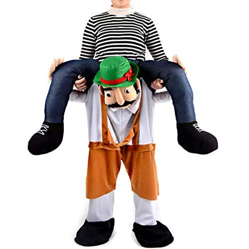 lotus.flower Piggyback Costumes - Unisex Funny Costumes - Ride On Costume - Carry Me Costume - Riding Shoulder Costume (Mascot Guy) for $<!--$24.39-->