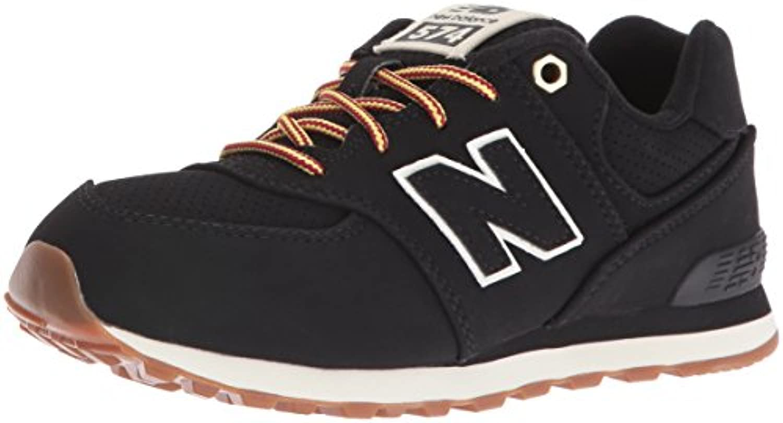 New Balance Unisex Kids 574 Low-Top Sneakers, Beige (Sand), 1 UK 33 EU