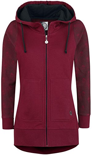 R.E.D. by EMP Out In Style Chaqueta con capucha Mujer Negro Negro
