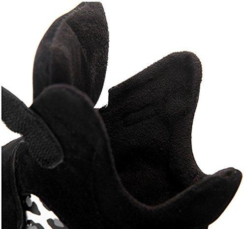 Damesschoenen Verborgen Hiel Sneaker Sport Wedge Pumps Schoenen Zwart