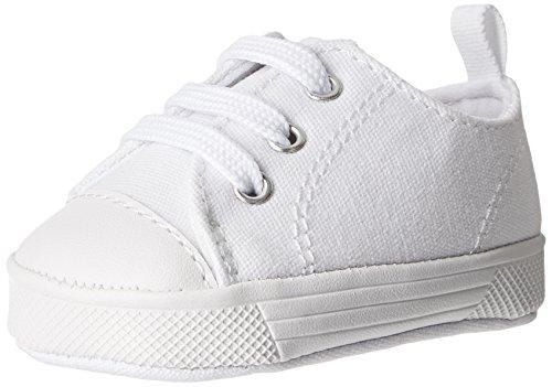 Baby Deer Canvas SK Sneaker (Infant),White,3 M US - Baby Shoes Deer Infant