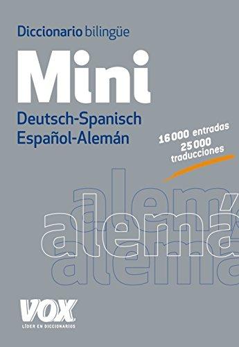 Descargar Libro Diccionario Mini. Español-alemán. Deutsch-spanisch Larousse Editorial