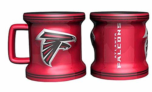 Atlanta Falcons Ceramic (Atlanta Falcons Sculpted Mini Mug Shot)