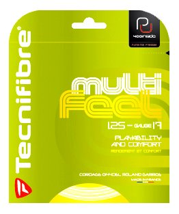 Tecnifibre Players (Tecnifibre Multi-Feel (17-1.25mm) Tennis String Set (Natural))