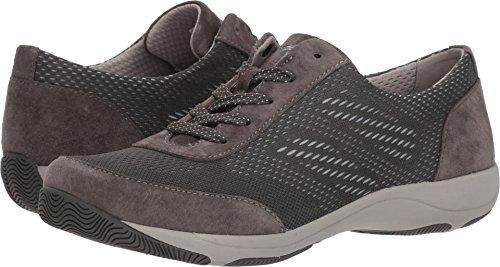 Dansko Women's Hayes Sneaker, Charcoal Suede, 38 M EU (7.5-8 US)