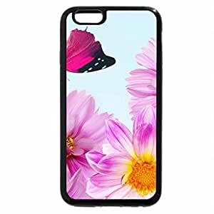 iPhone 6S Plus Case, iPhone 6 Plus Case, lovely flowers and butterfly