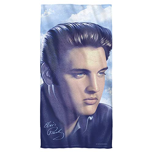 Elvis Presley - Portraiture - Beach Towel