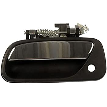 93 98 Toyota T100 T 100 Front Door Handle Lh Driver Side Truck Outside Black