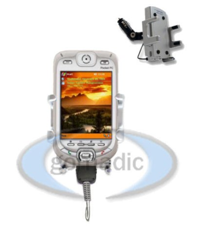 (Sprint PPC 6600 / XV6600 Powered Lighter Car / Auto Mount PDA Holder - Gomadic Brand )