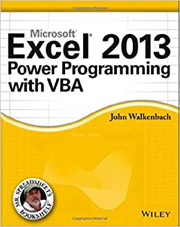 Excel 2013 Power Programming with VBA (Mr  Spreadsheet′s