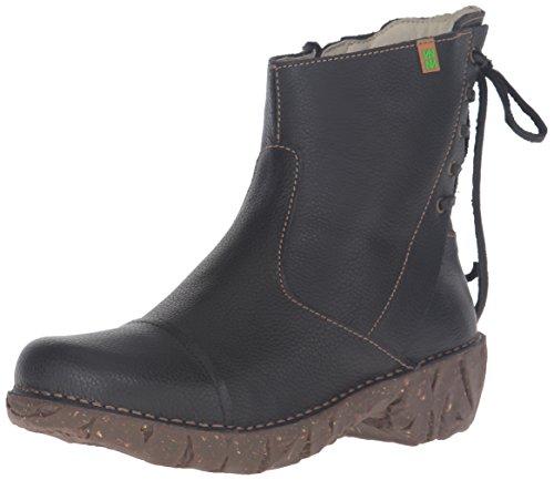 El Naturalista N148 Soft Grain Yggdrasil - Botas cortas para mujer Negro (Black)
