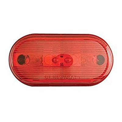 Optronics MC66RS Marker/Clearance Light, Red: Automotive