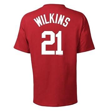 Dominique Wilkins Atlanta Hawks NBA Player T-shirt camisa: Amazon.es: Deportes y aire libre