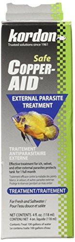 KORDON Copper Aid External Parasite Water Treatment, 4-Ounce