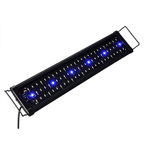 Yescom Multi-Color Aquarium Light Lamp Full Spectrum Bulbs for Freshwater Saltwater Fish Tank