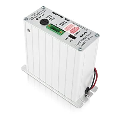 Opto 22 SNAP-PS5-24DC - SNAP Power Supply, 24 VDC Input, 5 VDC, 4 A Output