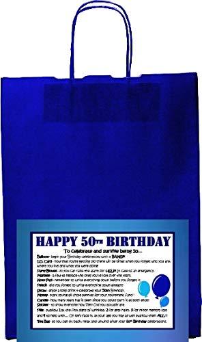 Wishes Can Come True - Kit para regalo de 50 cumpleaños ...