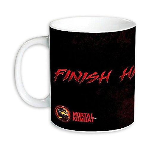 Mortal Kombat Finish Him Mug (Dos Mortal Kombat)