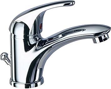 Miscelatore bagno rubinetto lavabo monocomando cromo reve