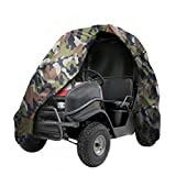 "NEXTCOVER UTV Cover-Heavy Duty Waterproof, Double P.U Coated 300D Denier,Fits UTVS up to L130""W60""H76"",Camo Color,NUTV21814-PS"