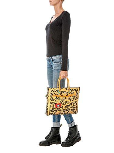 Gabs franco gabbrielli WEEKSTUDIO-I17 PN Shopper Accesorios Amarillo