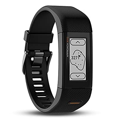 Garmin Approach X10 GPS Golf Band, Matte Black, Small/Medium, 010-01851-00